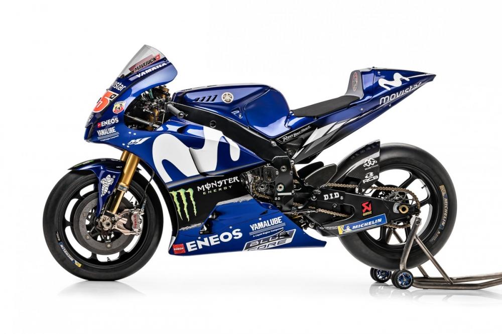 Monster se thay the Movistar tai Yamaha Racing Team trong MotoGP 2019 - 2