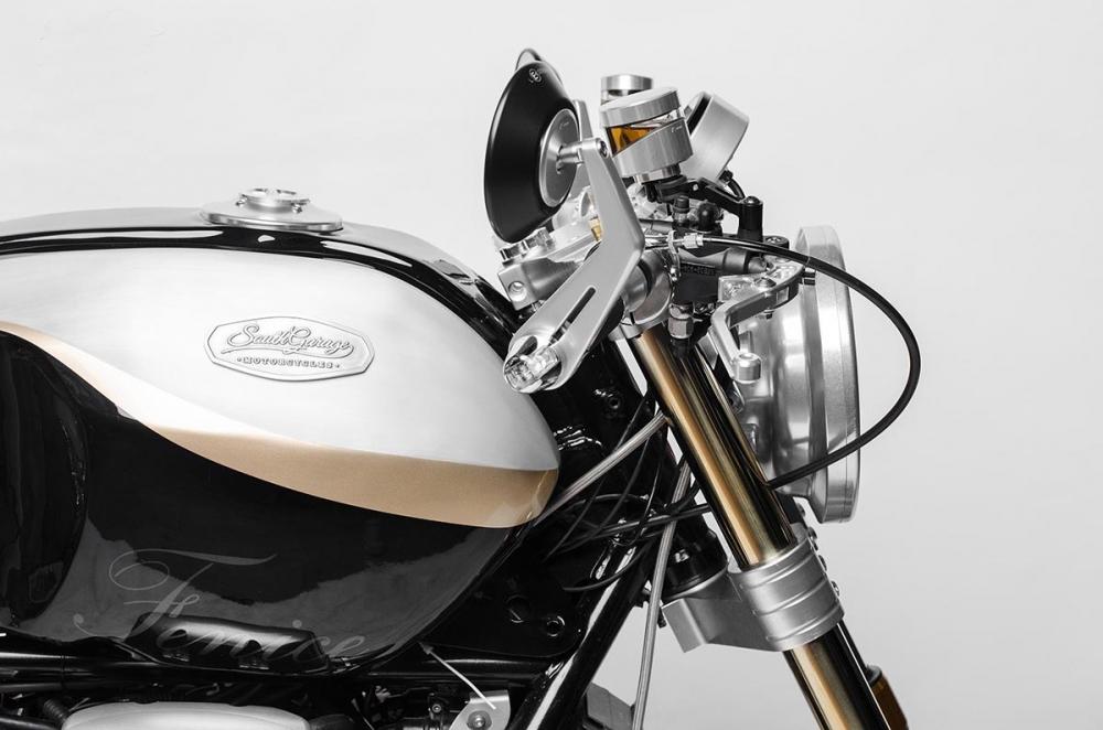 Moto Guzzi Bellagio ban do mang ten Fenice den tu South Garage - 3