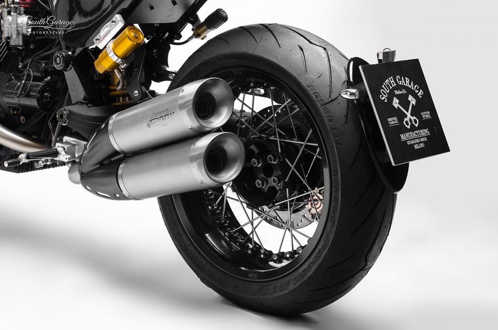 Moto Guzzi Bellagio ban do mang ten Fenice den tu South Garage - 8