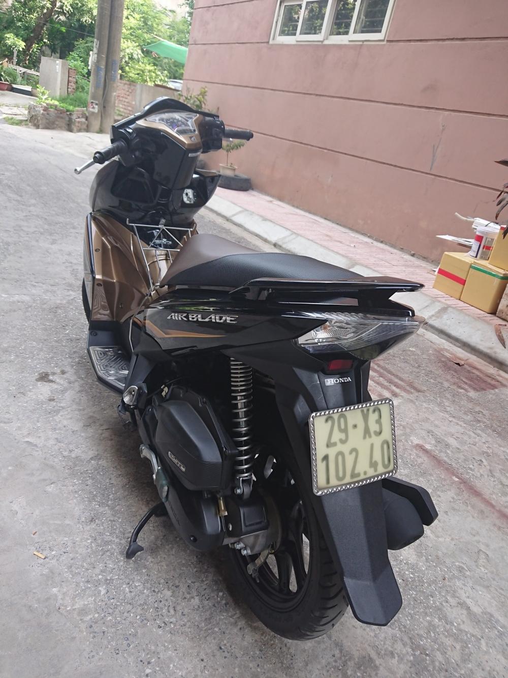 Rao ban Honda Airblade 125 vang den 2014 chinh chu su dung con moi - 2