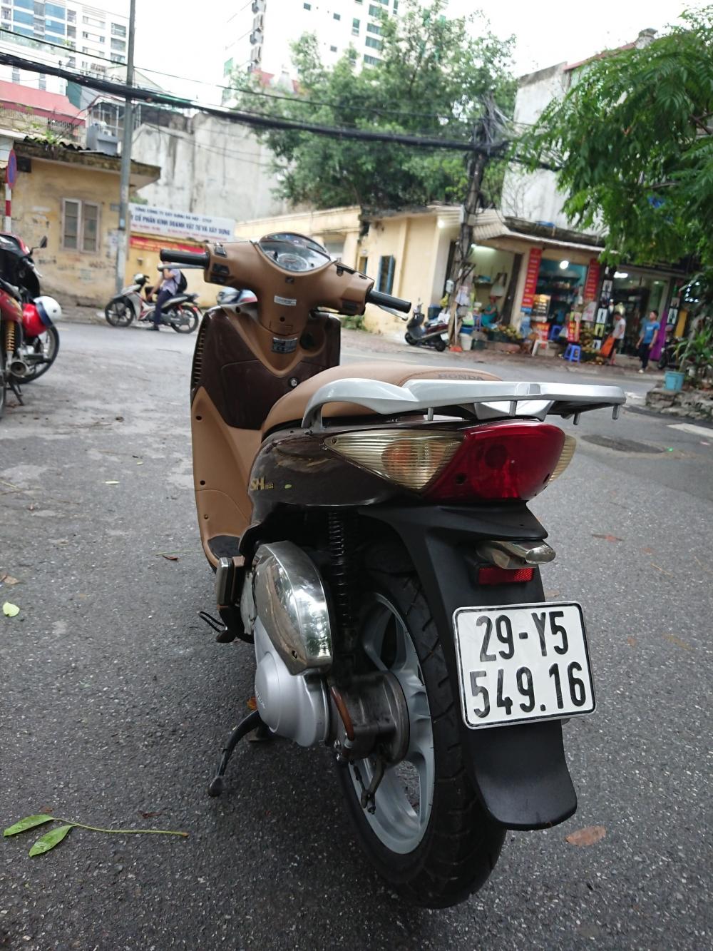 Rao ban Honda Sh 150i Nau chinh chu dung ten 2009 su dung nguyen ban
