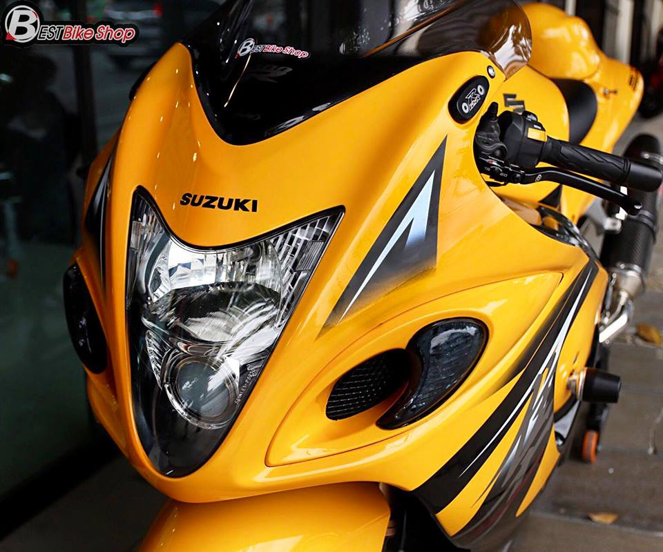Suzuki GSXR1300 Chan dung vam vo cua than gio Hayabusa - 5