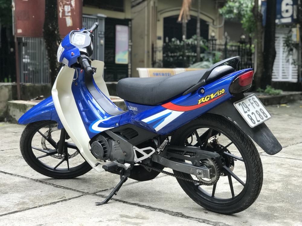 Suzuki Xipo RGV mau xanh 6 so 120cc xe chat nhu moi