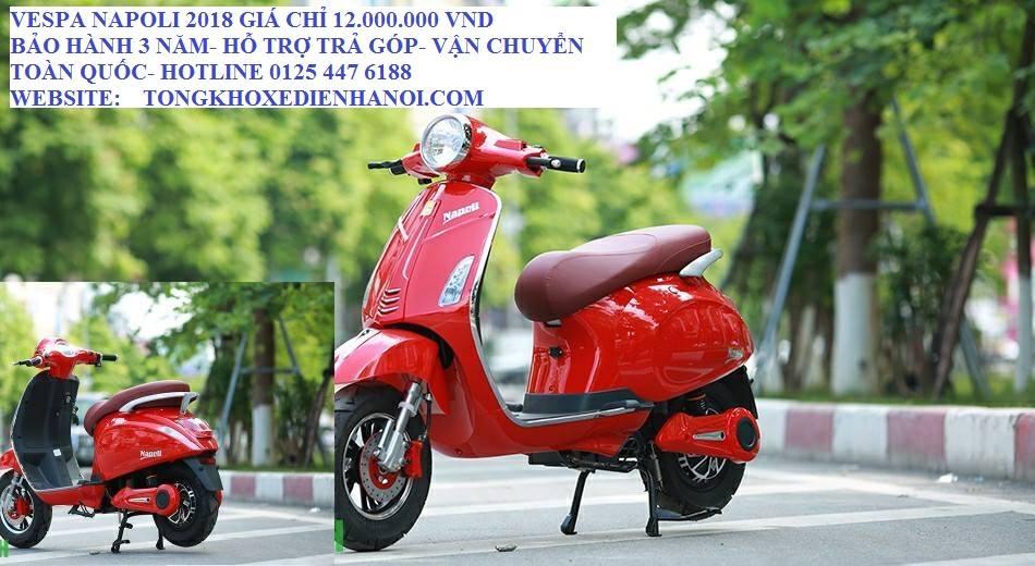 Tong kho xe dien Ha Noi xa kho xe dien moi tinh gia chi tu 6800000 Jeek V5 Xmen vespa Giant - 4