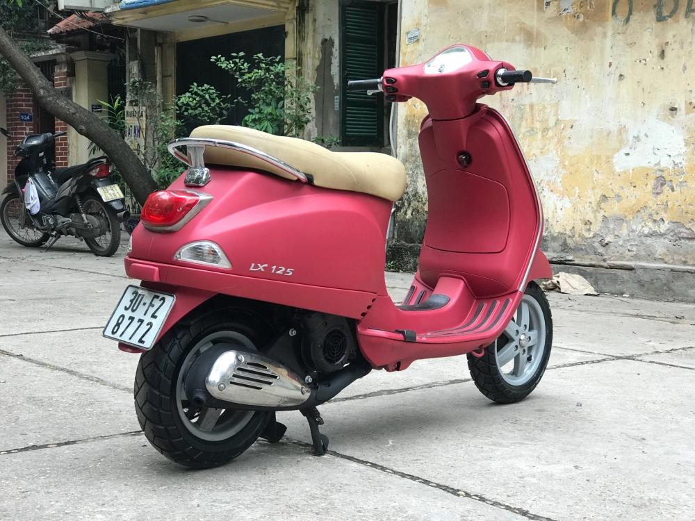 Vespa LX 125 nhap Y phien ban mau Do San bien 30F2 8772 - 3