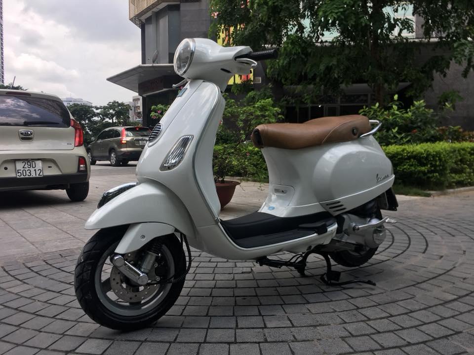 Vespa Lx 125cc VN mau trang bien Ha noi 30K7_7866 - 4