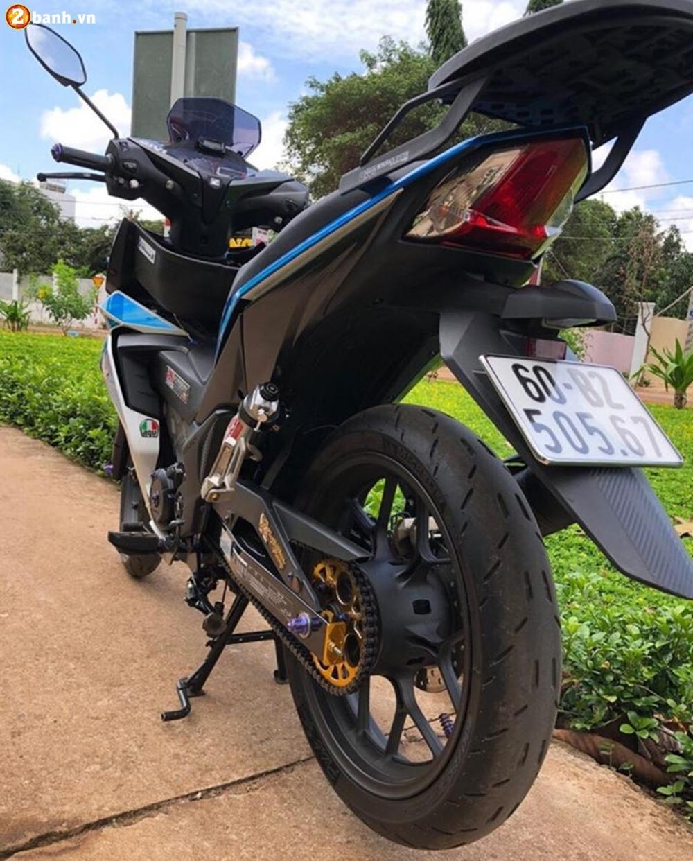 Winner 150 do phong cach Style zin gay me nguoi xem cua biker Long Khanh - 11