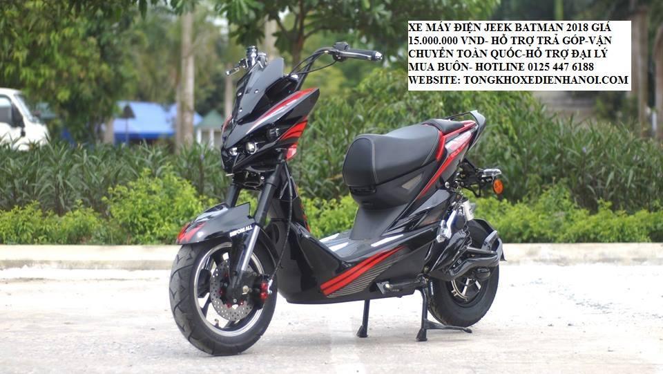 Xe dien Jeek Bat 2019 du mau dang duoc ban tro gia tai Tong kho xe dien ha Noi chi con 15trieu