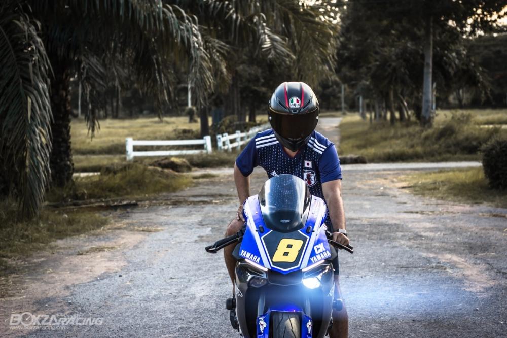 Yamaha R1Ca duoi gai doc day xuc cam qua lan Makeover - 27