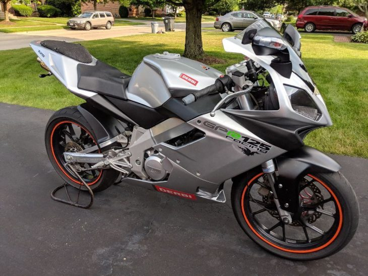 Yamaha TZR 125cc 2 ky dep mat qua - 2