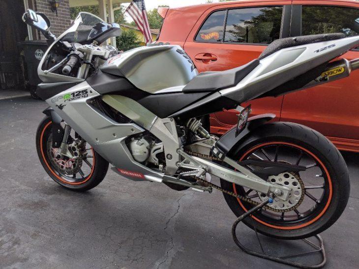 Yamaha TZR 125cc 2 ky dep mat qua - 4