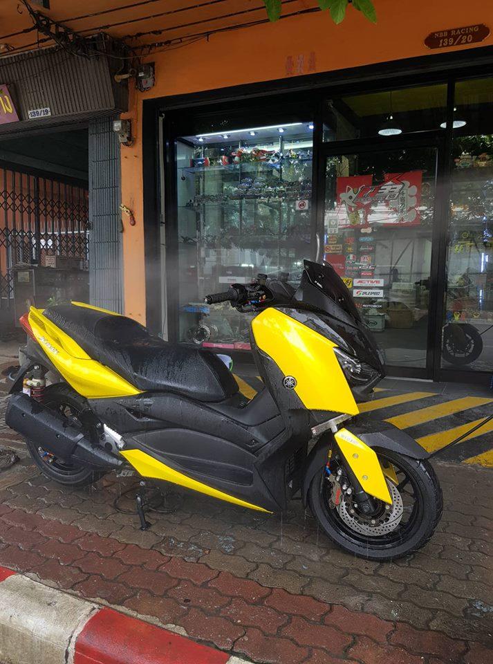 Yamaha XMax 300 ban do full option tren dat Thai - 13