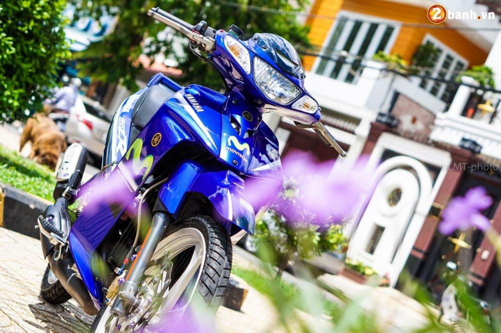 Yaz 125 do gay me nguoi xem voi option do choi gia tri cua biker Viet