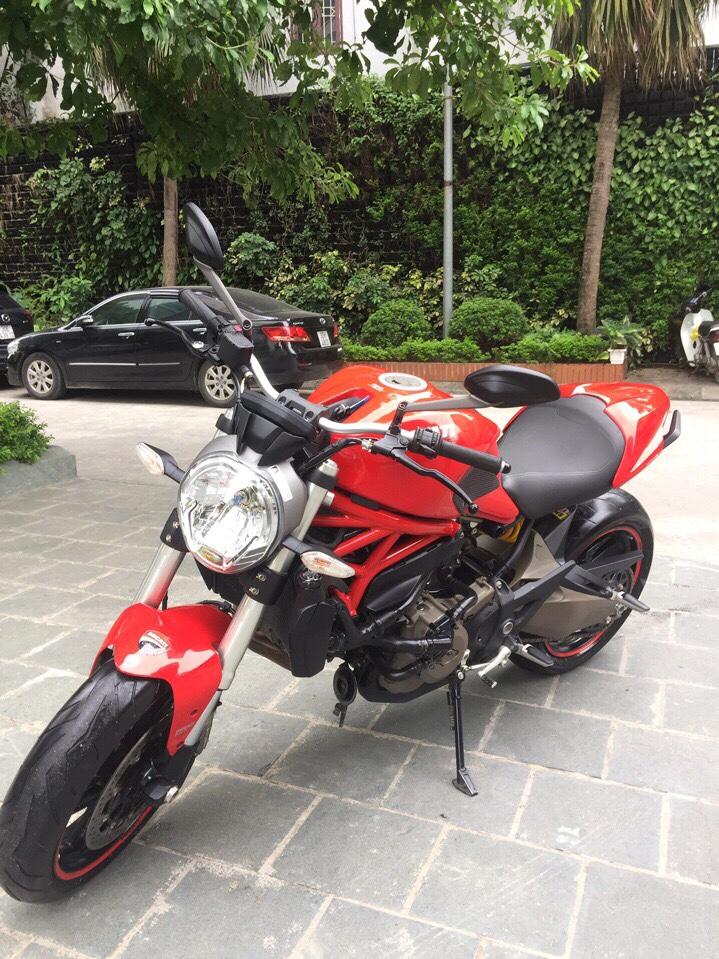 __Can Ban Ducati Monster 821 ABS date 2015 odo 13000km HQCN xe ken dep nhu xe thung ngay chu