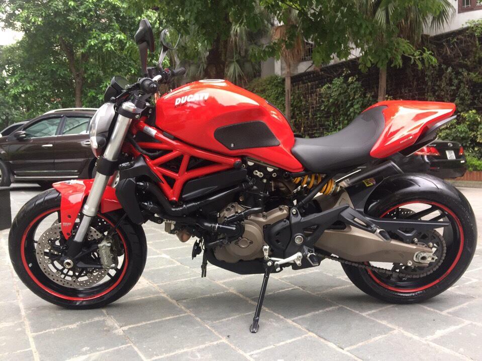 __Can Ban Ducati Monster 821 ABS date 2015 odo 13000km HQCN xe ken dep nhu xe thung ngay chu - 8