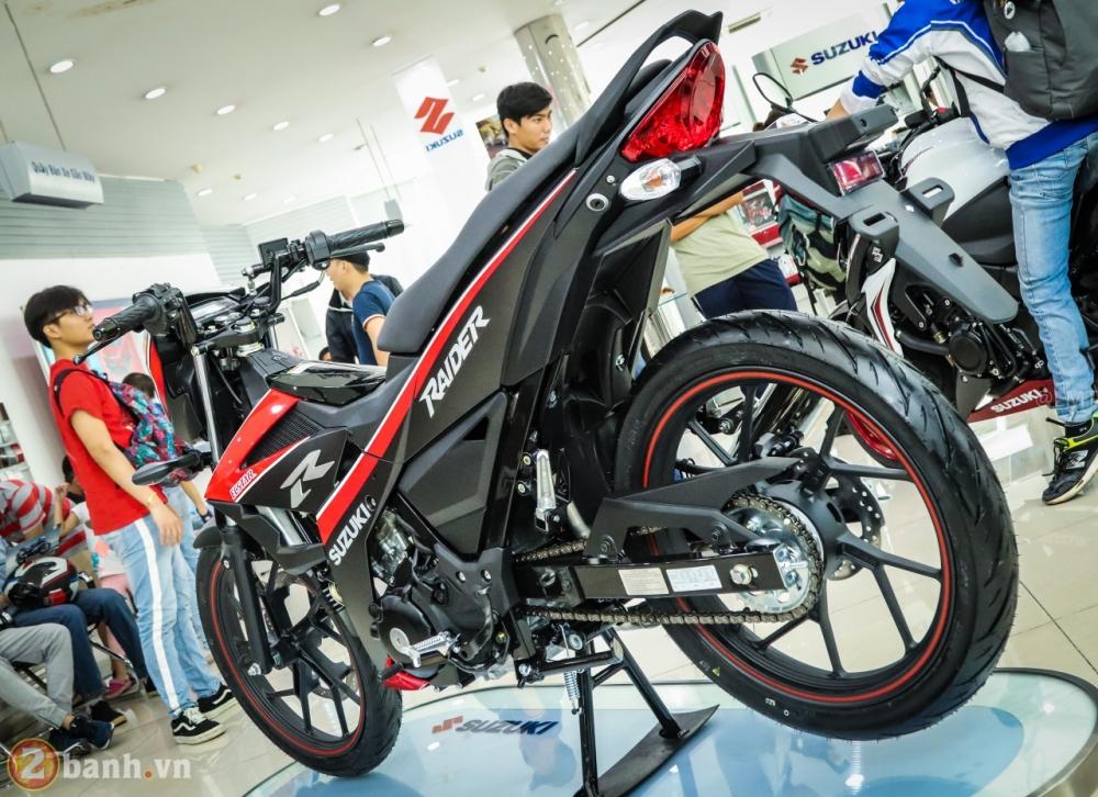 Can canh Suzuki Raider 150 Fi phien ban dac biet Yoshimura vua duoc ra mat - 3