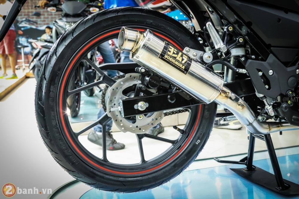 Can canh Suzuki Raider 150 Fi phien ban dac biet Yoshimura vua duoc ra mat - 34