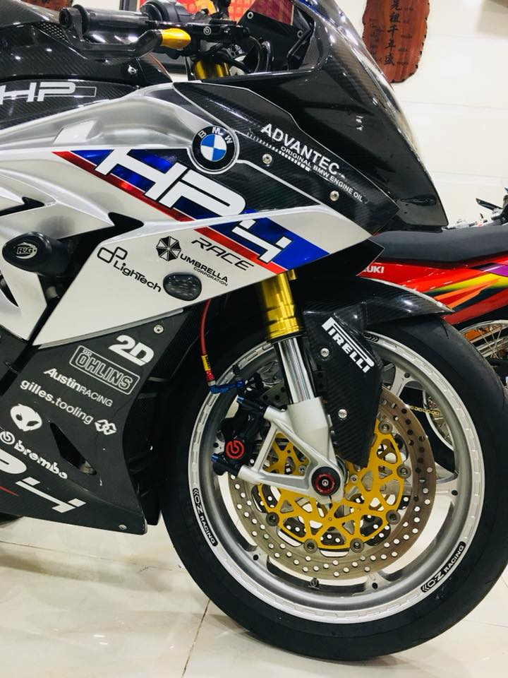 Dien kien sieu pham BMW S1000RR cua Biker dinh dam Sai Thanh - 7