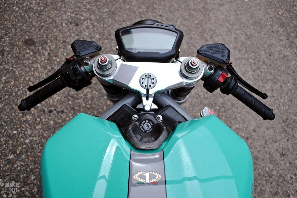 Ducati 848 hoi sinh khong tuong voi dien mao Cafe Racer - 5