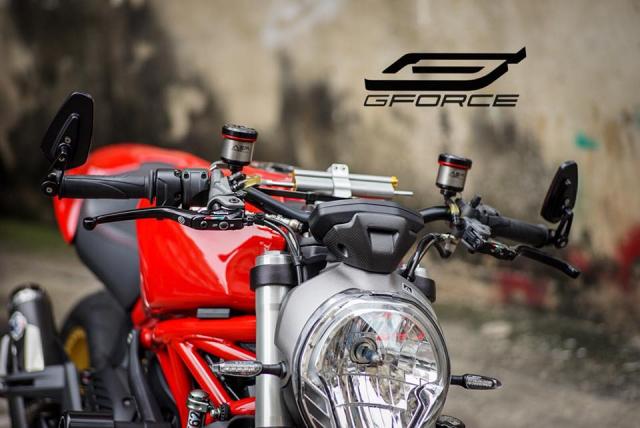Ducati Monster 821 Huyen thoai ve nhung con quai vat duong pho - 3