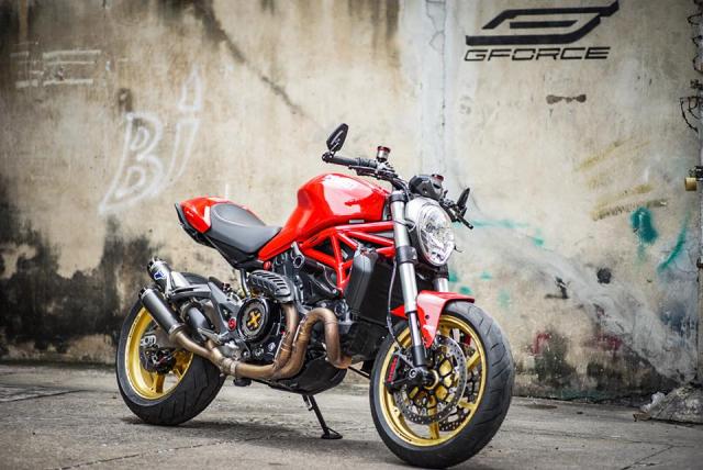 Ducati Monster 821 Huyen thoai ve nhung con quai vat duong pho - 7
