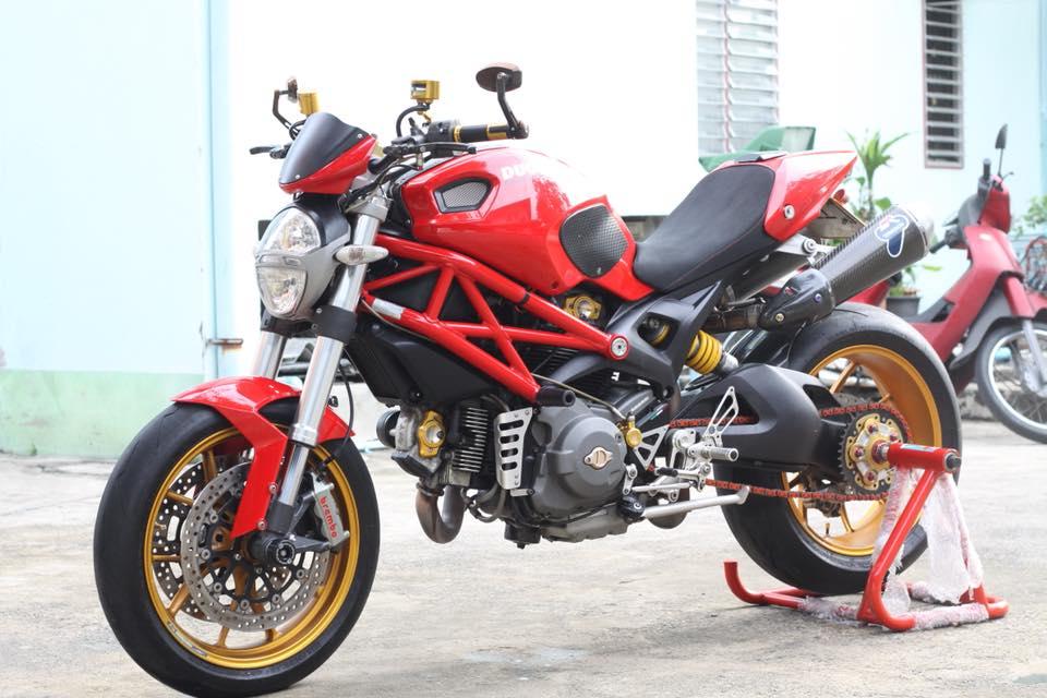 Ducati Monster 796 nang cap day noi bat tren dat Thai - 15
