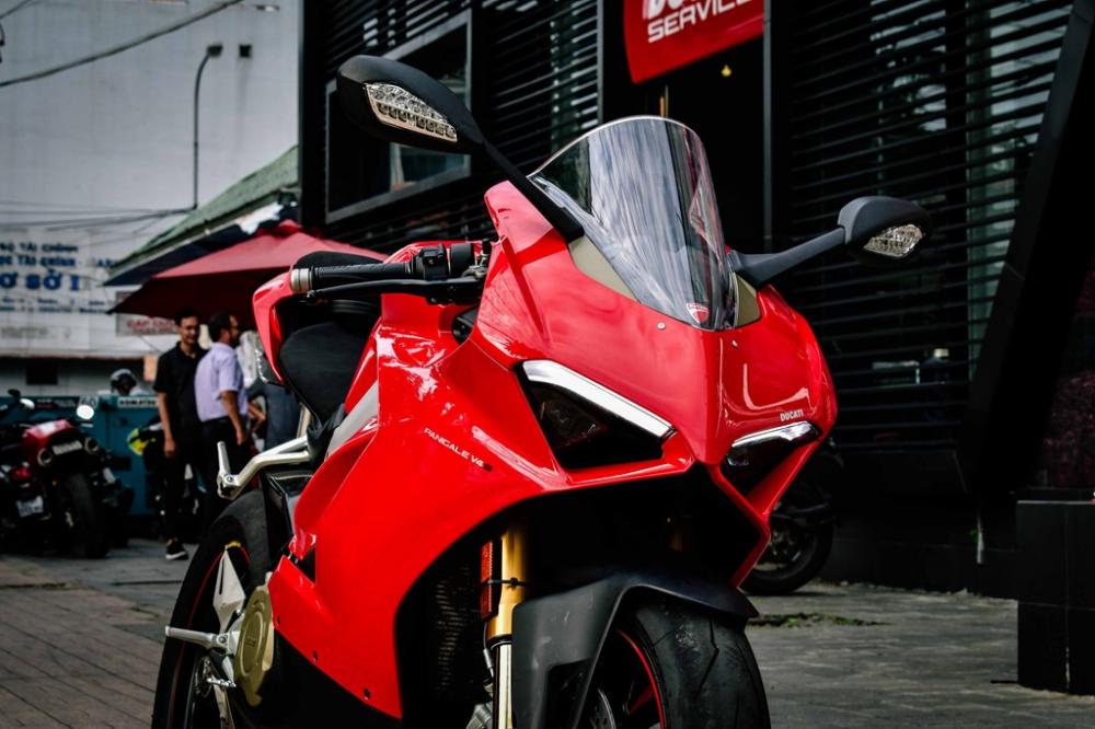 Ducati Panigale V4 S do cang det voi dan ong xa Termignoni 4USCITE fullsystem gan 200 trieu tai VN - 3