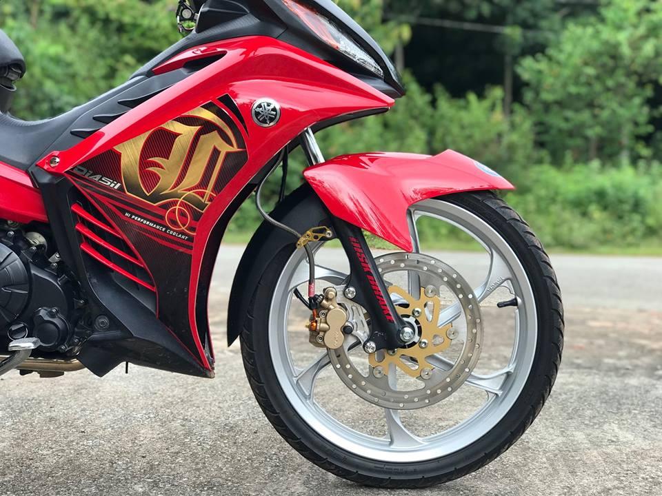 Exciter 135 do phong cach Lc135 cua Yamaha Malay - 6
