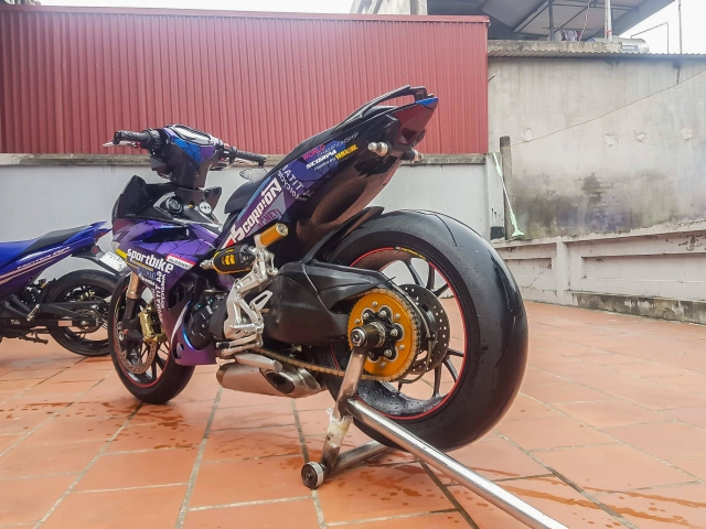 Exciter 150 do dat giai nhi Fest 2018 mien Bac voi dan chan Ducati 1299 panigale S - 7