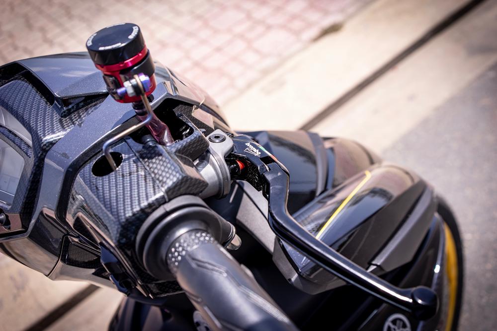 Exciter 150 do gap KTM va mam CNC vang khoe dang duoi cai nang Nha Trang - 5