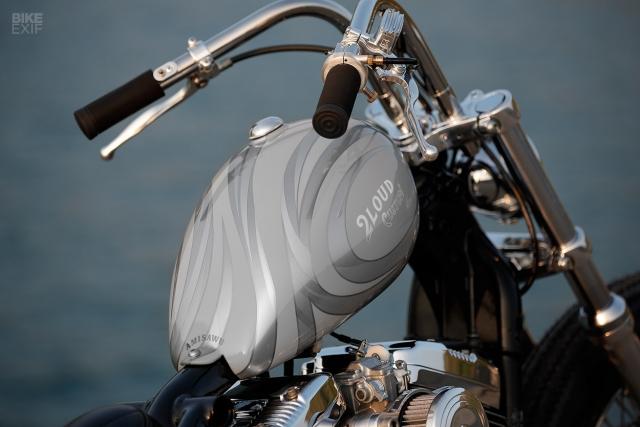 HarleyDavidson Sportster XL1200 an tuong voi ban do Bobber GREY MATTER - 10