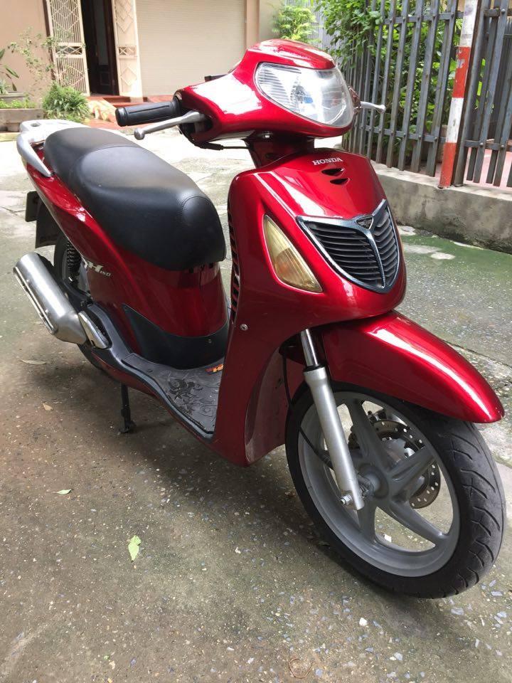 Honda Sh 150cc doi cuoi dang ky 2009 mau do dun Hn 30H9 dep may nguyen thuy 28tr500