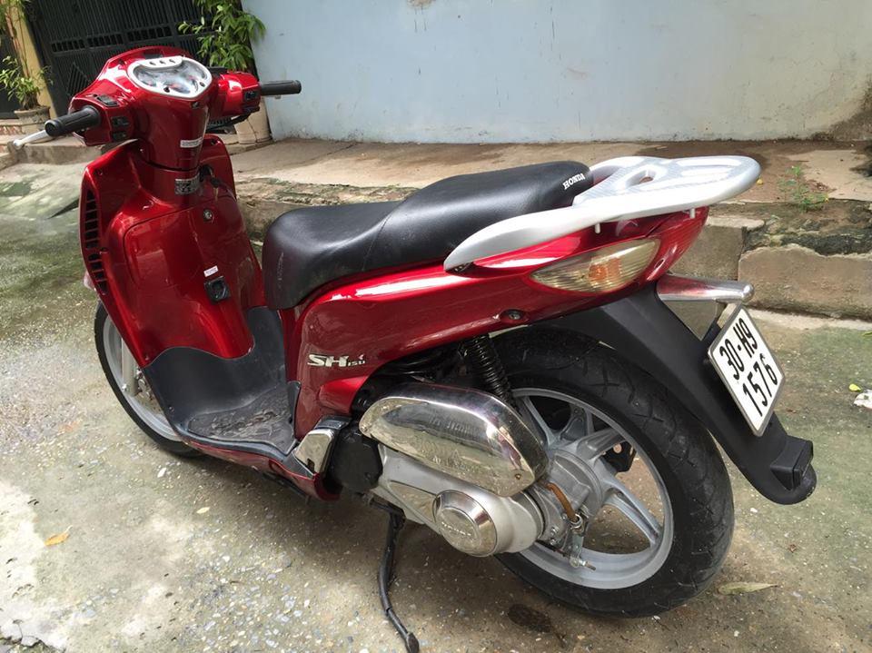 Honda Sh 150cc doi cuoi dang ky 2009 mau do dun Hn 30H9 dep may nguyen thuy 28tr500 - 2