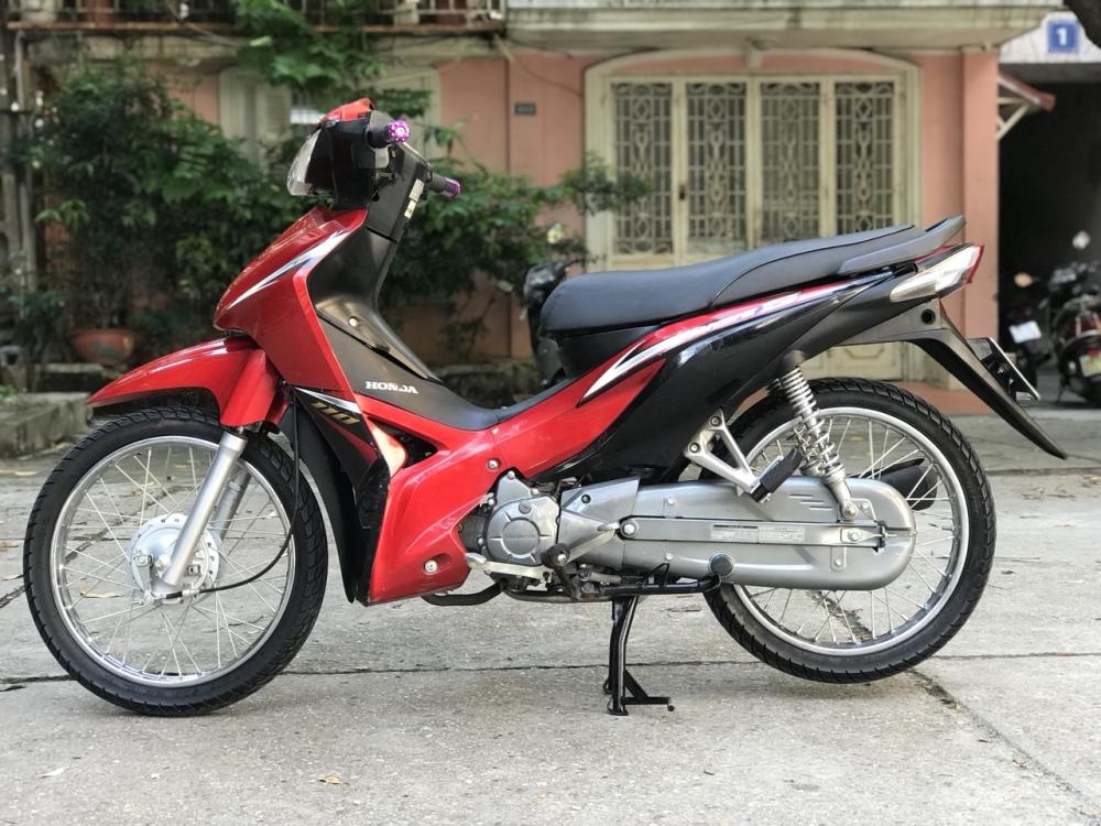 Honda Wave S 110 mau do den doi canh mong - 5