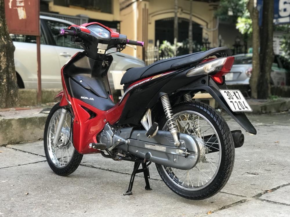 Honda Wave S 110 mau do den doi canh mong - 3