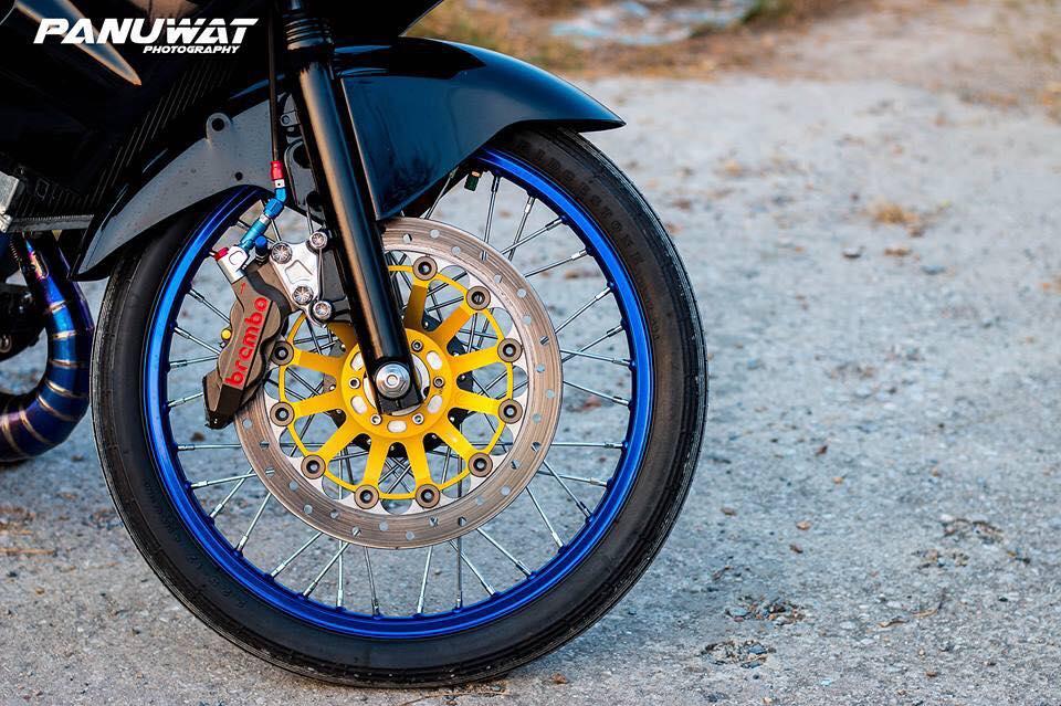 Kawasaki Kips 150 do bo banh sieu ben khien nguoi xem hot hoang - 5