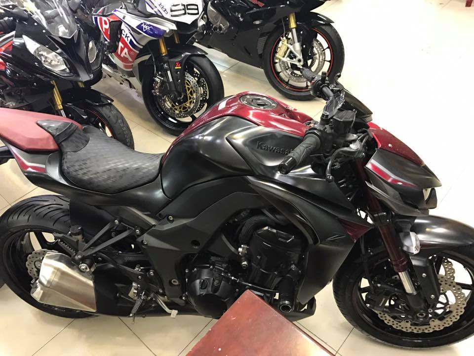 Motor Ken Can ban kawasaki z1000 ABS chau au full opstion 2016 40tr - 11