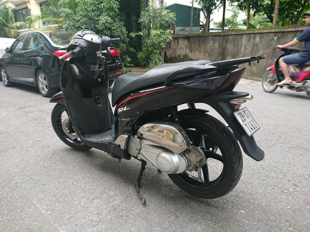 Rao ban Honda Sh 150i Black Sport bien HN nguyen ban 58tr