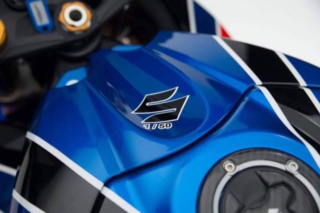 Suzuki GSXR1000R Phien ban BSB Raplica gioi han tri gia gan 600 trieu VND - 6