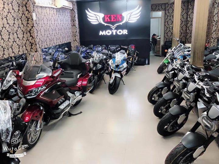 Tong hop xe moi va luot chau au dang co tai Ken MotoR Full options Buy abs Date 2019 - 15