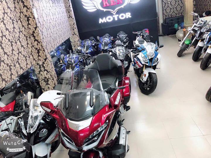 Tong hop xe moi va luot chau au dang co tai Ken MotoR Full options Buy abs Date 2019 - 16