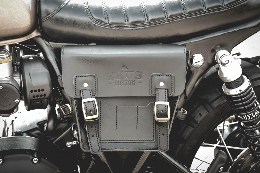 Triumph Bonneville T120 xe do co dien dam chat choi den tu Zeus Custom - 19