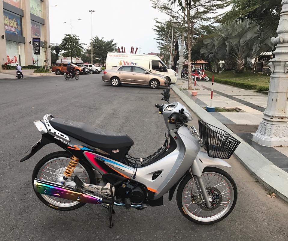 Wave 125 do dan chan duoc cham soc bang goi combo chuc trieu - 7