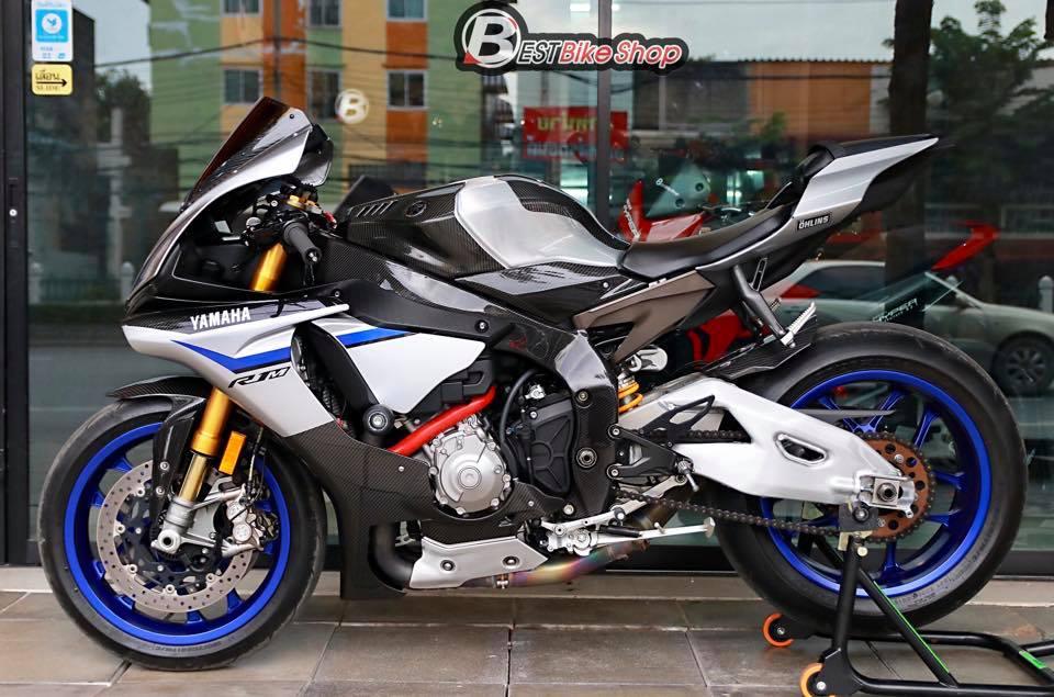 Yamaha R1M phien ban dac cach sac mui Carbon World - 15