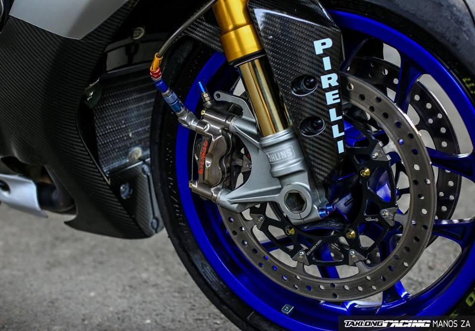 Yamaha R1M sieu mo to gioi han do cuon hut voi dan option hang nang - 7