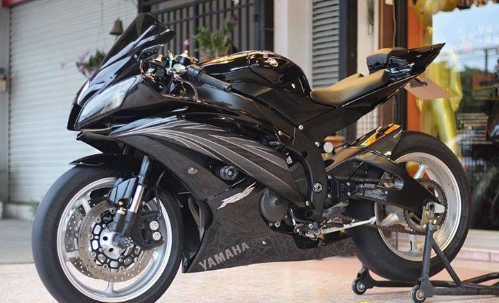 Yamaha R6 Hung than xa lo day cuon hut voi tone mau Blacksiver - 10