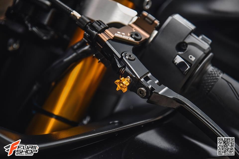 Yamaha R6 Ngua hoang hap dan voi dan trang bi Gale Speed - 5