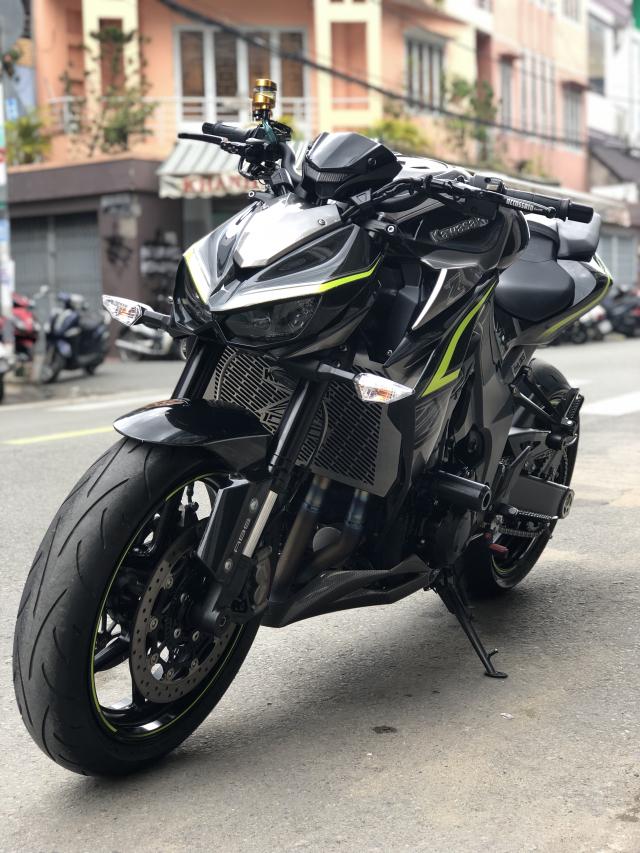 __ Ban kawasaki Z1000 R ban dat biet ABS odo 2000km HQCN DKLD T72017 xe keng nhu xe thung - 7