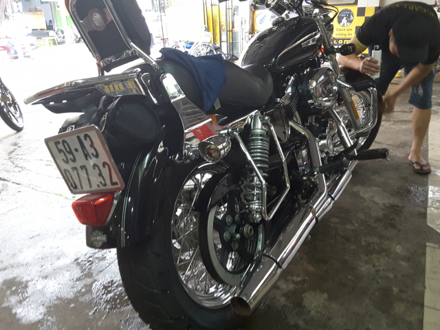 Ban xe Harley Davidson 1200 custom 2016 - 4