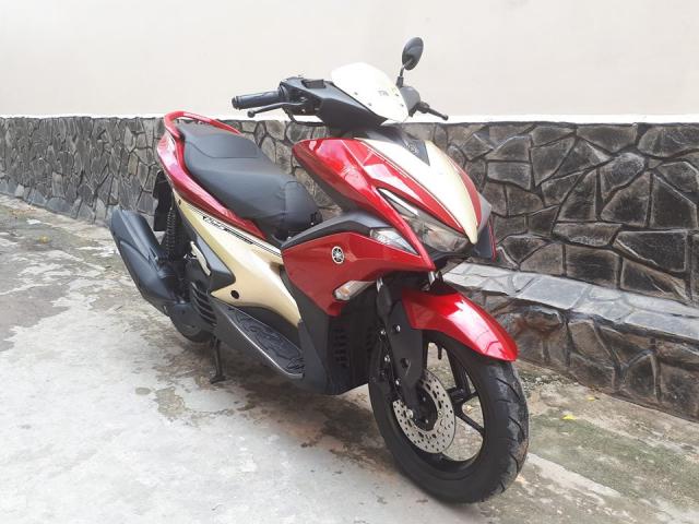 Can ban Yamaha Nvx125 khoa Smartkey chay duoc 3000km bstp mau do den